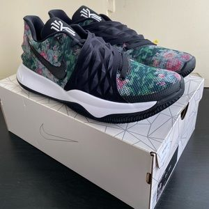 Nike Kyrie 1 Low Floral Black AO8979-002 Size 12